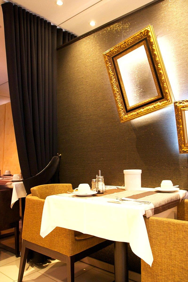 Drinks und Snacks in Frankfurt - Hotel Lounge im Hotel Europa Style